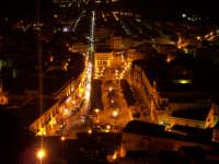 Una veduta di Piazza Italia in notturna  - Scicli (3521 clic)