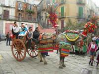 carretto siciliano in piazza Mario Bertolami,carnevale 2006  - Novara di sicilia (13822 clic)