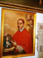 interno monastero delle benedettine-quadro s. giuseppe maria tomasi -foto vinciguerra stefano  - Palma di montechiaro (8173 clic)