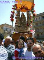 madonna del castello in processione -foto vinciguerra stefano g.  - Palma di montechiaro (8702 clic)