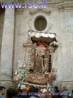 madonna del castello-all'uscita della chiesa madre  - Palma di montechiaro (5573 clic)