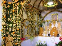 festa di San Giuseppe, altare   - Salemi (6569 clic)