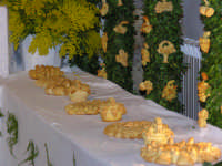 festa di San Giuseppe, altare, panuzzi di San Giuseppe   - Salemi (3905 clic)