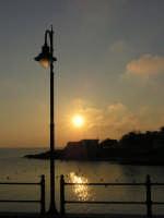 porticciolo del piccolo borgo di pescatori di Torretta al tramonto  - Torretta granitola (1710 clic)