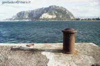 Il pellegrino visto dal molo di Mondello  - Mondello (2276 clic)