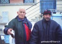 La metà dei diritti sono del loquace Giovanni Sciortino (destra) e del suo collega più mutanghero.  - Porticello (5428 clic)