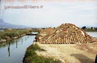 monti di sale visti dal museo del sale  - Trapani (3946 clic)