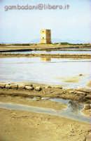 antica torre di avvistamento vista dal museo del sale  - Trapani (3872 clic)
