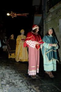 Corteo del presepe vivente 2005  - Monterosso almo (1931 clic)
