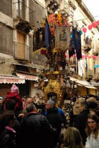 Sant'Agata 2006, una candelora  - Catania (1891 clic)