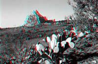 Rocca e castello di Musumeli visti dalla campagna circostante  - Mussomeli (5269 clic)