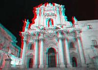 Visione notturna della Cattedrale di Siracusa  - Siracusa (2443 clic)