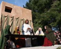 Processione della Via Crucis edizione del 2007 2° Carro  l'ultima Cena   - Buseto palizzolo (3034 clic)