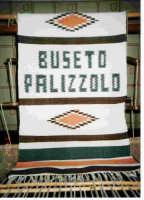 tappeto ericino realizzato in un laboratorio tessile di Buseto Palizzolo BUSETO PALIZZOLO ANTONELLO