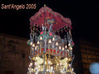 Festivity of Saint Angel Fête de Saint Ange Festlichkeit des Heiliger Angelus Fiesta de San Angel Festa di Sant'Angelo - 5 maggio - Processione del Fercolo con l'Urna del Santo  - Licata (3173 clic)