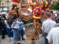 Festivity of Saint Angel|Fête de Saint Ange|Festlichkeit des Heiliger Angelus|Fiesta de San Angel|Festa di Sant'Angelo - 5 e 6 maggio - Sfilata di carretti siciliani e muli parati  - Licata (5589 clic)