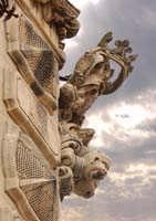Particolare del palazzo Beneventano  - Scicli (3333 clic)
