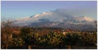 Etna, vista da S. Giovanni La Punta  - San giovanni la punta (5141 clic)