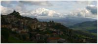 Etna, vista da Bronte  - Bronte (4324 clic)