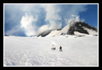 Etna, crateri sommitali   - Nicolosi (1999 clic)