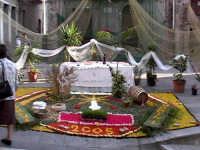 INFIORATA 2005 - Altare Piazza Lavinia  - San pier niceto (7517 clic)