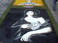INFIORATA 2005 - Immagine di Sant'Agata, protettrice di Catania  - San pier niceto (6097 clic)