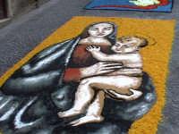 Particolare INFIORATA 2005  - San pier niceto (3552 clic)