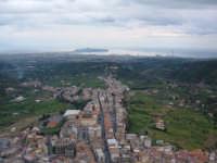 Panorama invernale dal castello. Sullo sfondo la penisola di Milazzo e, purtroppo, la raffineria.  - Santa lucia del mela (4256 clic)