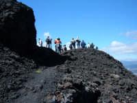 Versante nord. Trekking sulla lava del 1981, a monte di Randazzo.  - Etna (2197 clic)