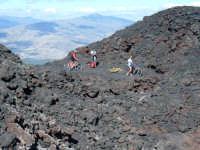 Versante nord. Sulla lava del 1981 c'è anche chi ci va in mountain bike.  - Etna (2087 clic)