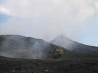 Cratere centrale estate 2004  - Etna (2426 clic)