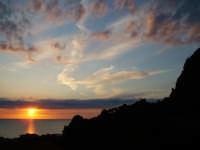 Tramonto sul mare e sulla rocca  - Cefalù (2453 clic)