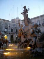 Particolare della Fontana di Diana in piazza Archimede   - Siracusa (2821 clic)