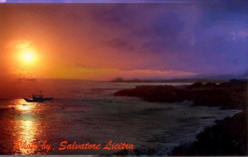 tramonto a Punta Braccetto - PUNTA BRACCETTO - inserita il