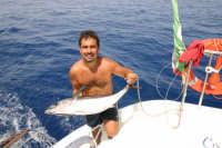 Pesca di una alalunga di 15 Kg  - Eolie (6312 clic)