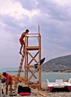 Life guard a fine giornata  - Castel di tusa (5351 clic)