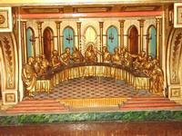 Ultima cena Particolare Altare rappresentazione ultima cena  - Naro (4000 clic)