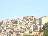 Panoramica Panoramica Castello e Vecchio Duomo  - Naro (3999 clic)