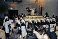 Venerabile Confraternita della Carità di Licata (Ag) Foto processione del simulacro di Gesù flagellato Scattata nel mese di marzo 2005   - Licata (4220 clic)