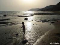 Tramonto sulla spiaggia della Scala dei Turchi  - Realmonte (3869 clic)