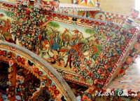 Particolare di un carro siciliano alla Sagra del Mandorlo in fiore  - Agrigento (5621 clic)