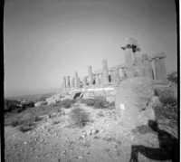 Tempio di Giunone - lato sud - foto Pinhole  - Valle dei templi (6195 clic)