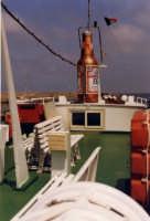 il Ponte del Vaporetto Polifemo durante i primi tour nel 1998  - Aci trezza (2927 clic)