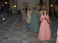 2° Corteo Storico di Santa Rita - Rita giovinetta - Gli anziani genitori - Rita sposa - Piazza Madonna delle Grazie - 17 maggio 2008   - Castellammare del golfo (550 clic)