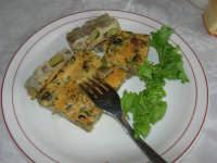 C/da Digerbato - Tenuta Volpara - antipasto: uova con favette e carciofi - 27 aprile 2008   - Marsala (2047 clic)
