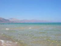 zona Tonnara - mare calmo e trasparente 13 agosto 2008   - Alcamo marina (841 clic)