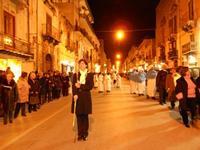 festa dell'Immacolata: la processione nel corso VI Aprile - 8 dicembre 2009  - Alcamo (1522 clic)