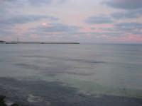 il mare all'imbrunire, mentre il cielo si tinge di rosa - 27 gennaio 2008  - San vito lo capo (727 clic)