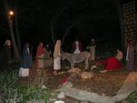 Parco Urbano della Misericordia - LA BIBBIA NEL PARCO - Quadri viventi: 8. Gesù entra in Gerusalemme - 5 gennaio 2009   - Valderice (2607 clic)