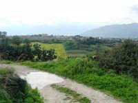campagna alcamese e case di periferia - 23 febbraio 2009   - Alcamo (2436 clic)
